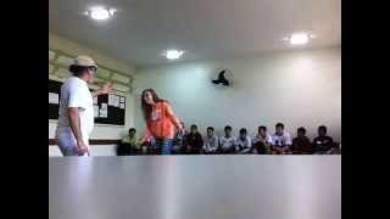 Capoeira Meia Lua: Oficina no CEF 08. Sobradinho II, Distrito Federal, Brasil. 14mai15. 20A