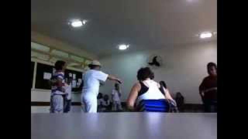Capoeira Meia Lua: Oficina no CEF 08. Sobradinho II, Distrito Federal, Brasil. 14mai15. 19B