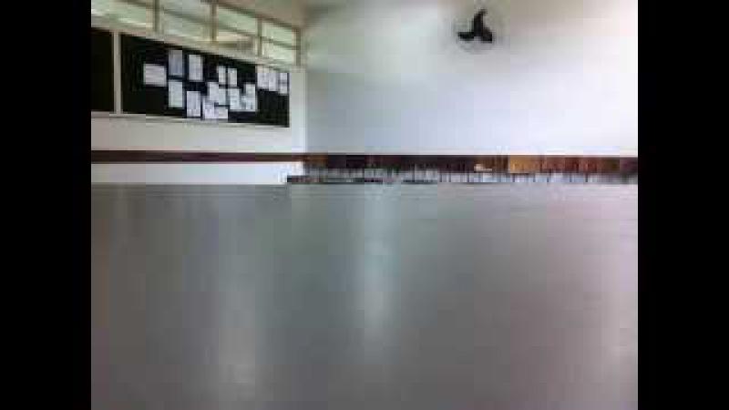 Capoeira Meia Lua: Oficina no CEF 08. Sobradinho II, Distrito Federal, Brasil. 14mai15. 09