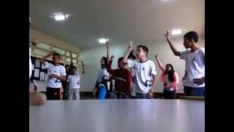 Capoeira Meia Lua: Oficina no CEF 08. Sobradinho II, Distrito Federal, Brasil. 14mai15. 18
