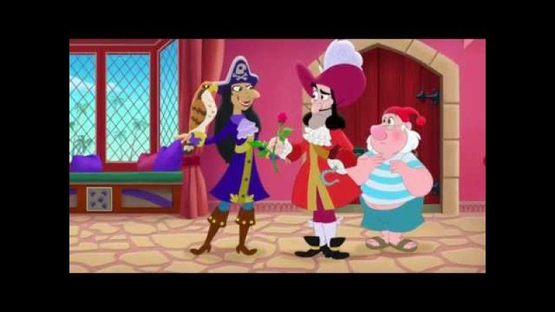 Джейк и пираты Нетландии Подруги пиратки Водопад сокровищ Серия 57 Сезон 2