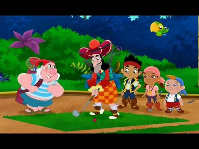 Джейк и пираты Нетландии - Драгоценный трезубец Иззи/ Пиратский мини-гольф - Сери...