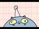 There's A Cat Licking Your Birthday Cake - 1 Hour version