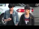 FANCAM Pre Debut - 110710 EXO M Tao Kris walking on street.mp4