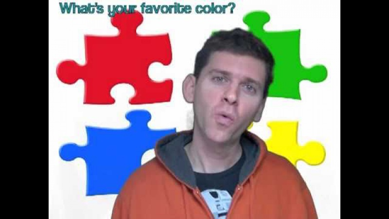 Whats your favorite color? Children's Song