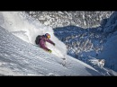 Freeskier Fabian Lentsch takes to the slopes