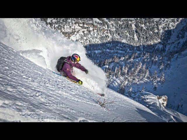 Freeskier Fabian Lentsch takes to the slopes
