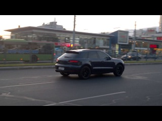 Riding 2015 Porsche Macan Turbo in Kharkiv (Ukraine)