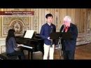 Guy Dangain Master class Ecole Normale de Musique de Paris Weber Concerto N°2 Clarinette