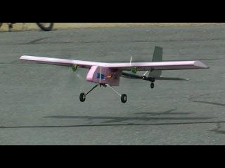 RCTESTFLIGHT - Twin Motor Heavy Lifter Cargo Plane