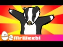 Badgers animated music video MrWeebl