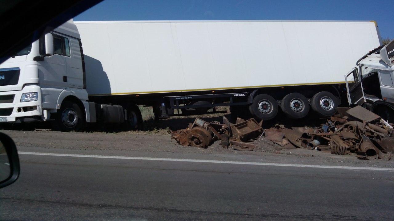 ДТП авария на 950 км трассы М4 ДОН 25.07.2015
