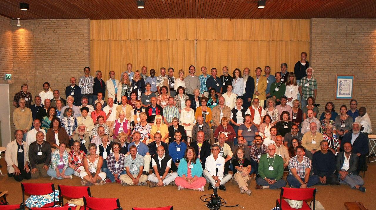 теософская конференция в Наардене, Голландия