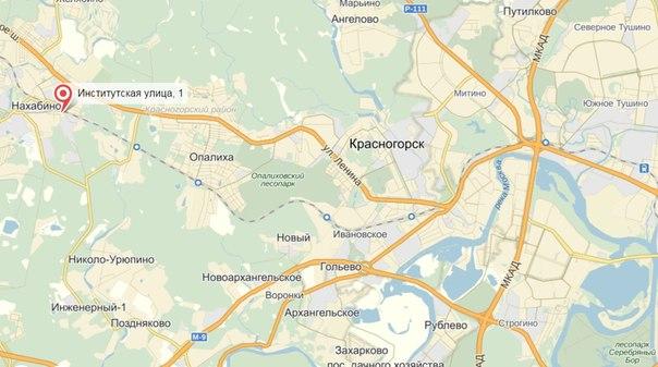 От метро «Тушинская» автобусы