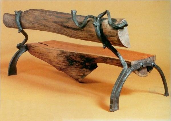 Дачные скамейки своими руками