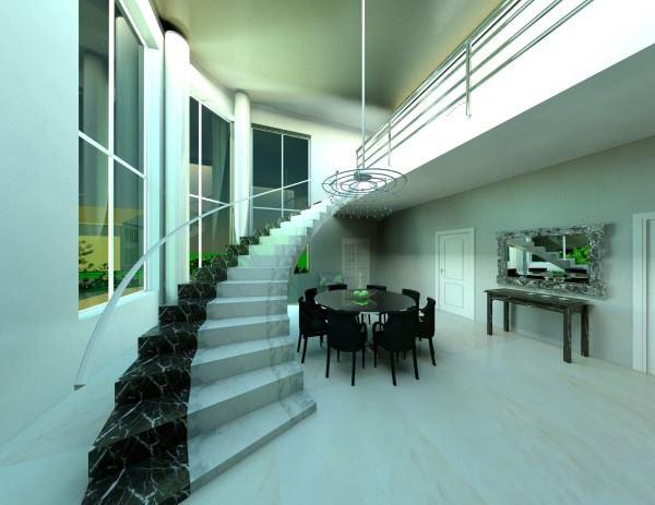 лестница интерьер гостиная