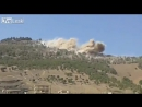 Russian Air Force at work. Air strike on underground targets. #Syria