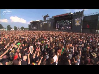 Heaven Shall Burn - Valhalla (Blind Guardian cover) Live @ Wacken Open Air 2014