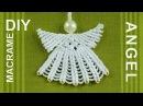 How to Make Macrame ANGEL Decoration