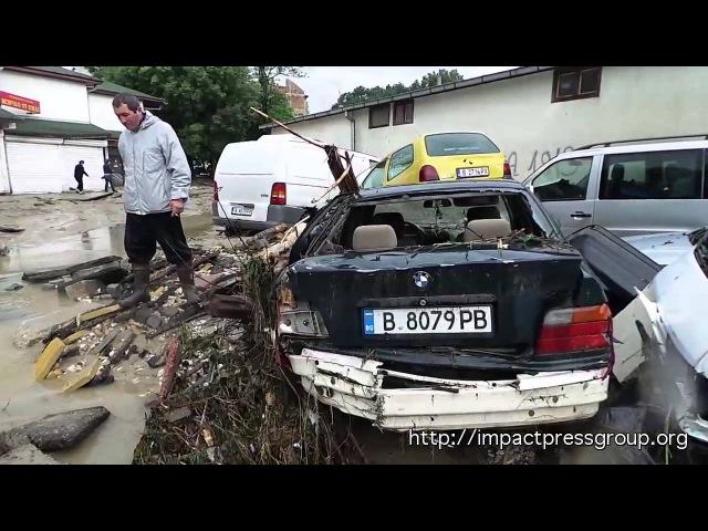 Varna Bulgaria Floods Asparuhovo navodnenie