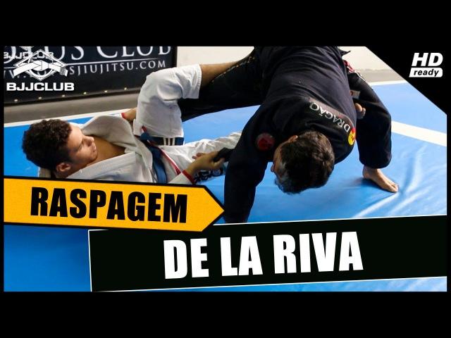 Jiu Jitsu Raspagem De La Riva Rider Zuchi BJJCLUB