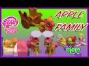 My Little Pony Apple Family Playsets! Applejack, Big Mac, Babs Seed! Review by Bin's Toy Bin
