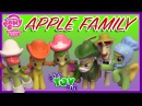My Little Pony Apple Family Collection Minifigures! Review by Bin's Toy Bin