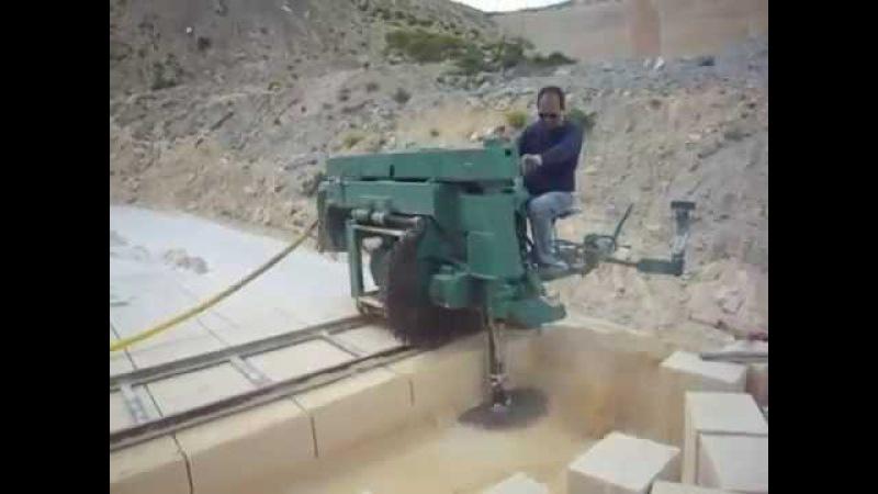 Как режут камни