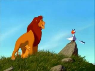 Цензура в мультфильмах. Король лев