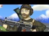 Battlefield Friends: USAS-12+Фраги (1 сезон 3 серия) [НА РУССКОМ]