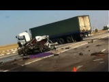 Подборка аварий фур, грузовиков Август 2014 часть 2