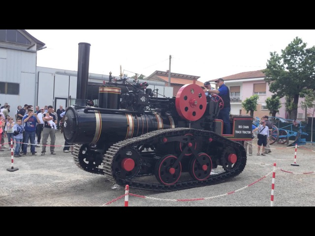 Hornsby Mammoth Recreation - Crawler Steam Tractor
