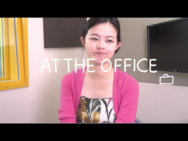 Weekly Chinese Words with Yinru - At the Office