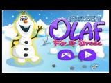Olaf frozen game Олаф Холодное сердце игра