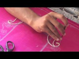 HOW TO DO MAGGAM WORK IN SAREE BLOUSE tutorials 8