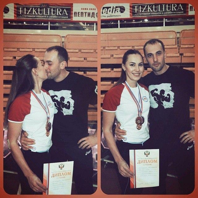Ekaterina Nikisheva with her husband │ Image Source: Katerina Nikisheva
