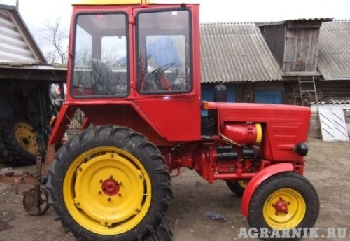Т25 трактор цена по осетии подержанный с передним кузовам