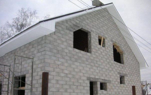 Дома из пеноблоков - Вертикаль
