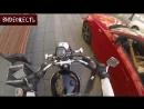 Мотоциклистка наказала свиней! © ВИДЕОЖЕСТЬ
