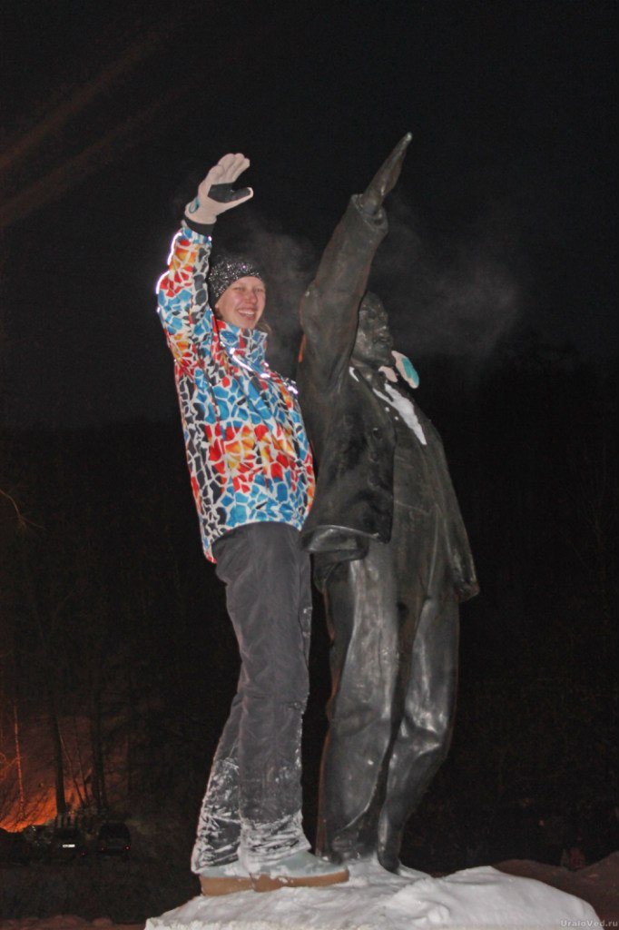 У златоустовского Ленина