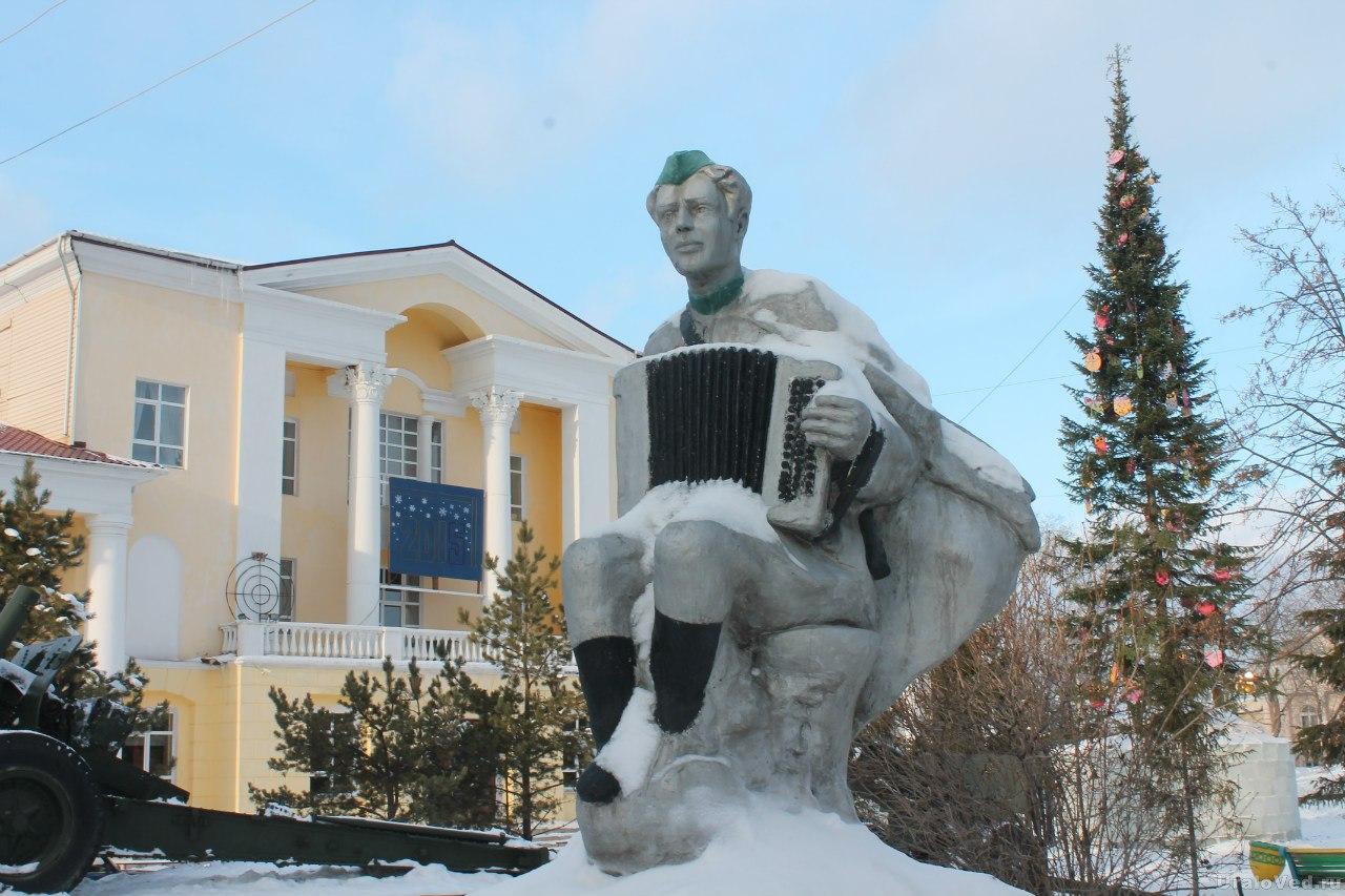 Памятник в Сатке