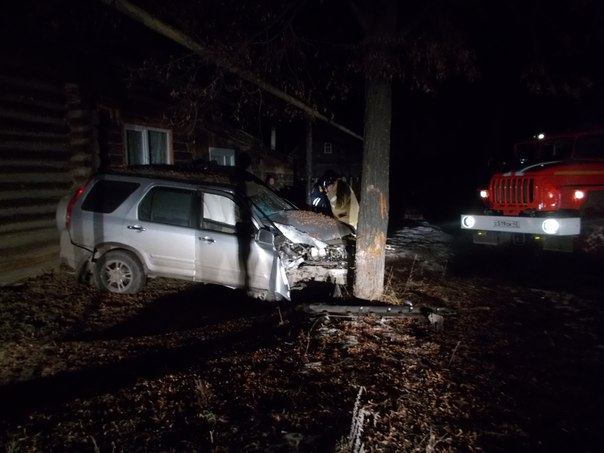 Машина врезалась в дерево фото