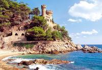 Puzzle-1000. с-100774. замок / lloret de mar, spain, Castorland