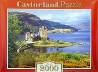 Puzzle-2000. с-200016. замок в заливе, Castorland