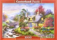 Puzzle-1000. с-101047. сказочный домик, Castorland