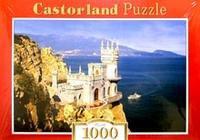 Puzzle-1000. с-101160. ласточкино гнездо, Castorland