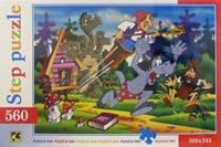 Step puzzle-560. 78005. ну, погоди!, Step Puzzle (Степ Пазл)