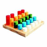 Цилиндрики втыкалки. 5 рядов, RN Toys