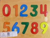 """D24 вкладыш """"цифры"""", VGA (Wooden Toys)"""