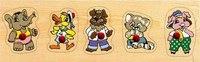 """Рамка """"зверята 1"""", VGA (Wooden Toys)"""